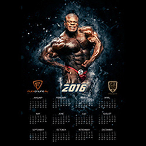 Плакат - Календарь на 2016 год (Кай Грин)