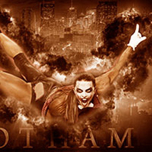 Плакат - Оксана Гришина в образе «Джокера» на «Олимпии»-2013
