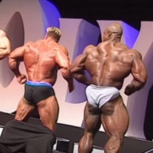 Колеман против Катлера на пресс-конференции Мистер Олимпия - 2004