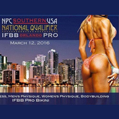 IFBB Orlando Pro - 2016 (результаты)