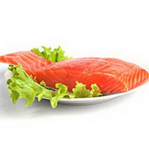 7 лучших продуктов питания для бодибилдинга - филе лосося