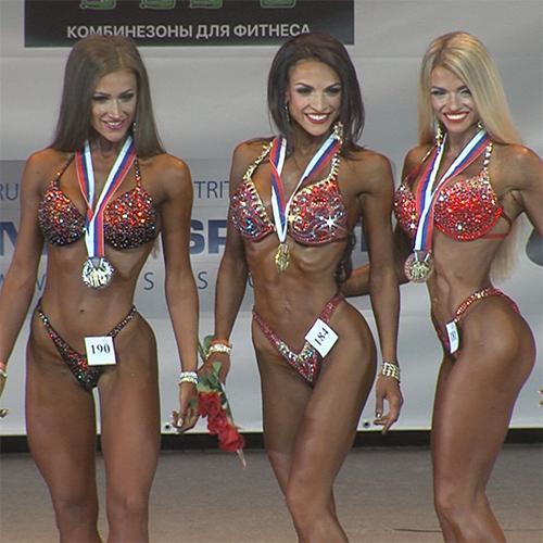 Фитнес-бикини 166 см - Чемпионат Москвы по бодибилдингу - 2016