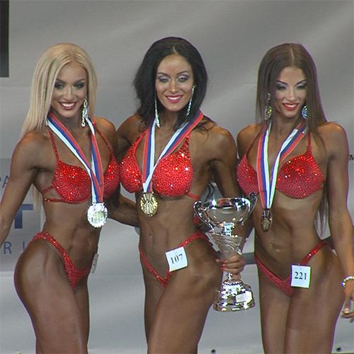 Фитнес-бикини 172 см - Чемпионат Москвы по бодибилдингу - 2016