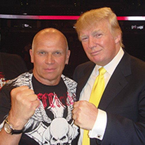 Дональд Трамп - абсолютный чемпион США по политическим боям без правил