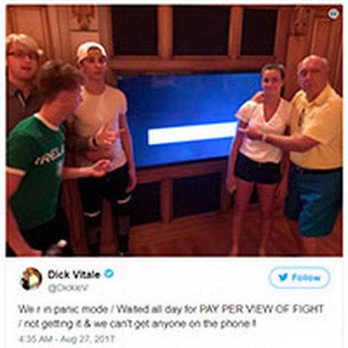Зрители подают в суд на UFC из-за обрыва трансляции «МакГрегор - Мейвезер»