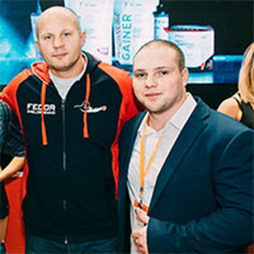 Спортивное питание «Sport Victory Nutrition» и Федор Емельяненко