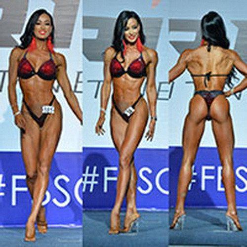Фитнес-бикини абсолютная категория - Гран-при России по бодибилдингу - 2018
