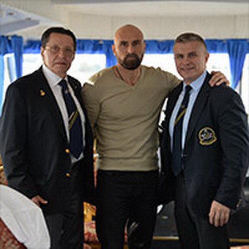 Ежегодная встреча Федерации Бодибилдинга Санкт-Петербурга на корабле