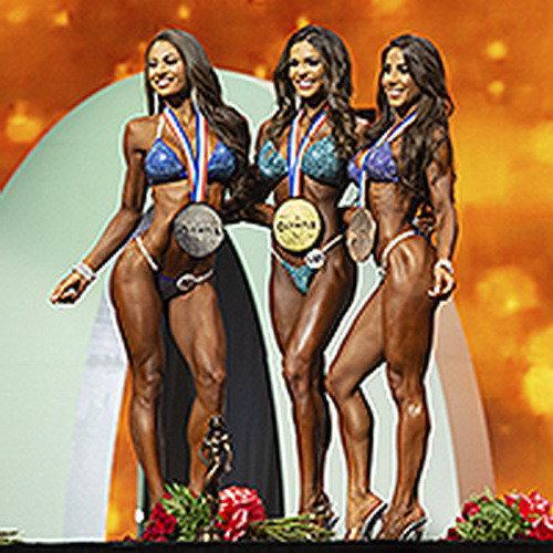 Результаты: Бикини Олимпия - 2019