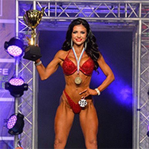 Фитнес-бикини абсолютная категория - Чемпионат Санкт-Петербурга по бодибилдингу - 2019