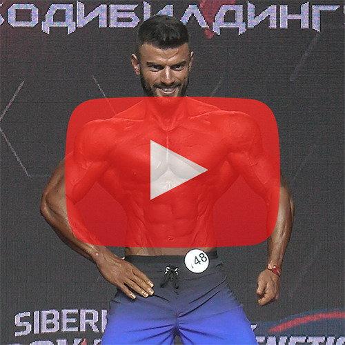 Пляжный бодибилдинг абсолютная категория - Чемпионат России по бодибилдингу - 2020
