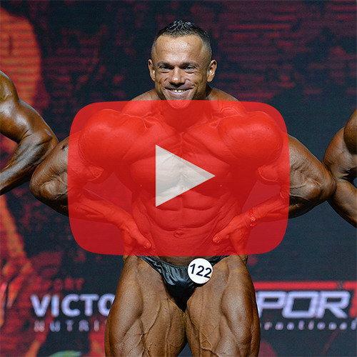 Бодибилдинг 95 кг - Чемпионат России по бодибилдингу - 2020