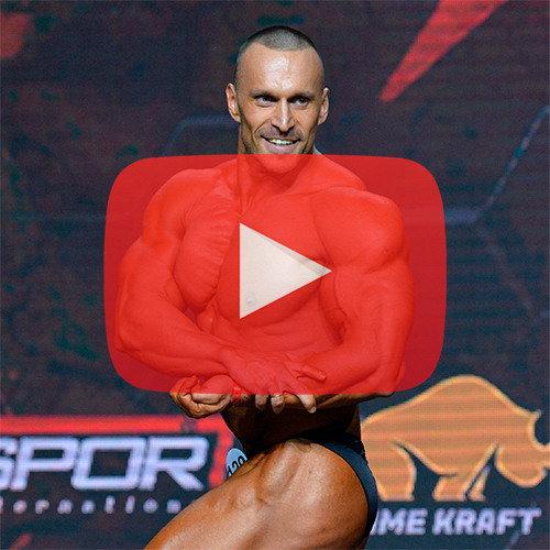 Бодибилдинг 90 кг - Чемпионат России по бодибилдингу - 2020