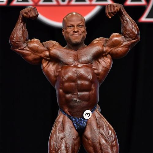 Результаты: Мистер Олимпия до 212 фунтов - 2020