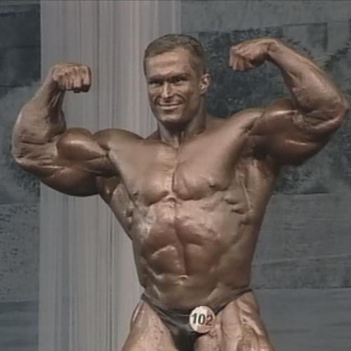 Александр Федоров (120 кг) - Чемпионат Европы по бодибилдингу - 2003