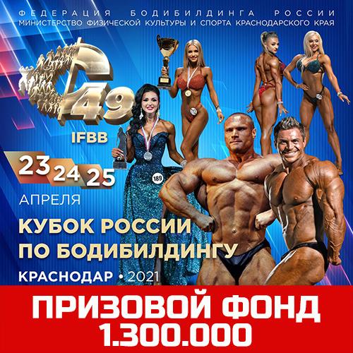 Положение: Кубок России по бодибилдингу - 2021