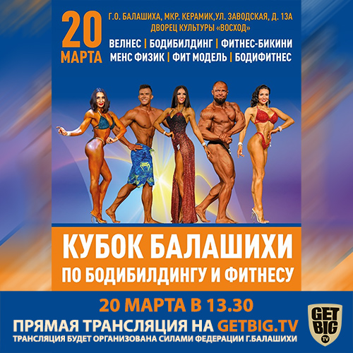 Кубок Балашихи по бодибилдингу - 2021