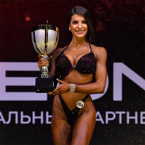 Фитнес-бикини абсолютная категория - Grand-Prix Dudushkin Fitness Family - 2021