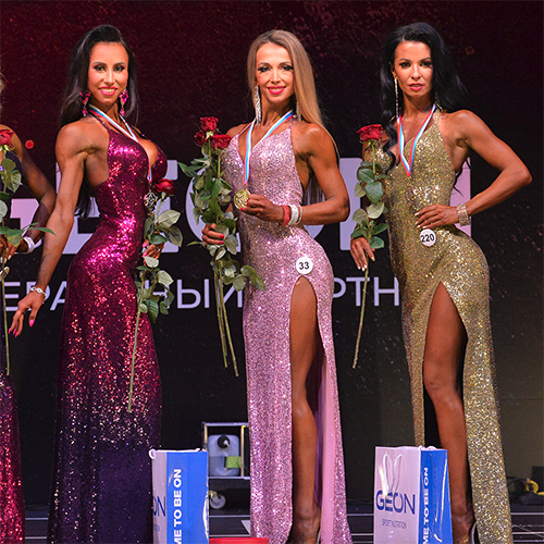 Фитмодели 166 см - Grand-Prix Dudushkin Fitness Family - 2021