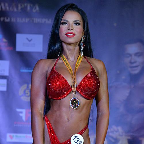 Фитнес-бикини абсолютная категория - Кубок Ярославской области по бодибилдингу - 2021