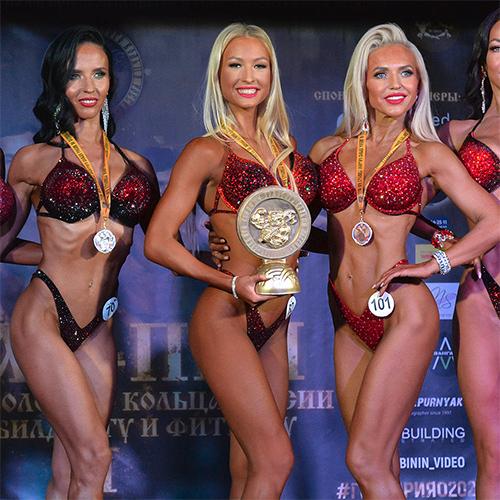 Фитнес-бикини +169 см - Кубок Ярославской области по бодибилдингу - 2021