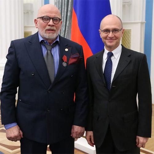 Игорь Петрухин награжден Медалью «За заслуги перед Отечеством» II степени