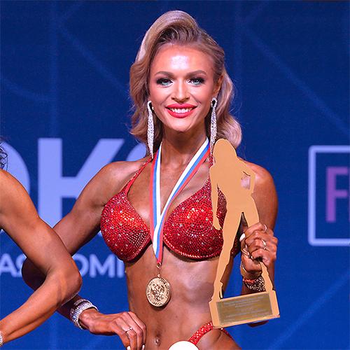 Фитнес-бикини 172 см - Кубок России по бодибилдингу - 2021 (Самсон-49)