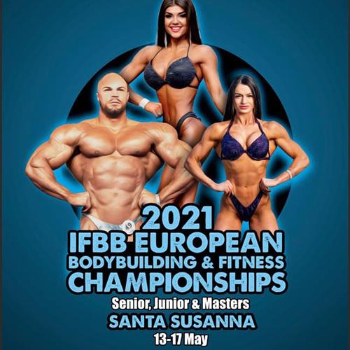 Протоколы: Чемпионат Европы по бодибилдингу - 2021