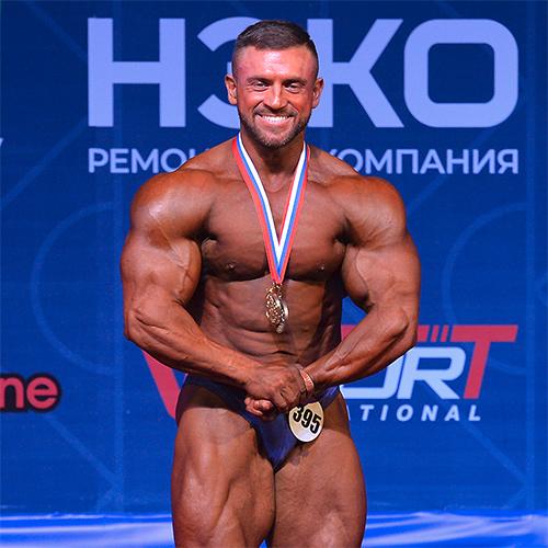 Бодибилдинг 80 кг - Кубок России по бодибилдингу - 2021 (Самсон-49)