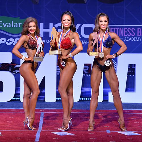 Фитнес-бикини дебют 164 см - Кубок России по бодибилдингу - 2021 (Самсон-49)