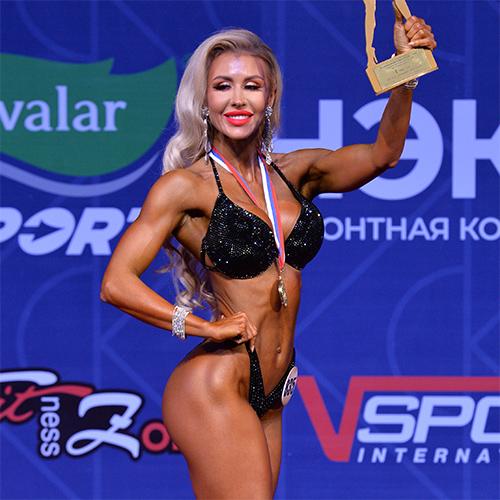 Фитнес-бикини мастера 166 см - Кубок России по бодибилдингу - 2021