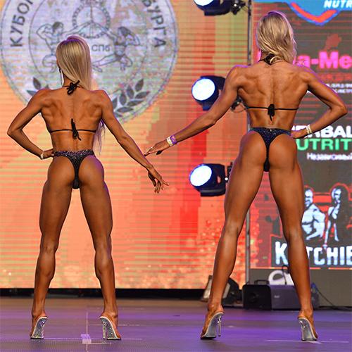 Фитнес-бикини юниорки абсолютная категория - Кубок Санкт-Петербурга по бодибилдингу - 2021
