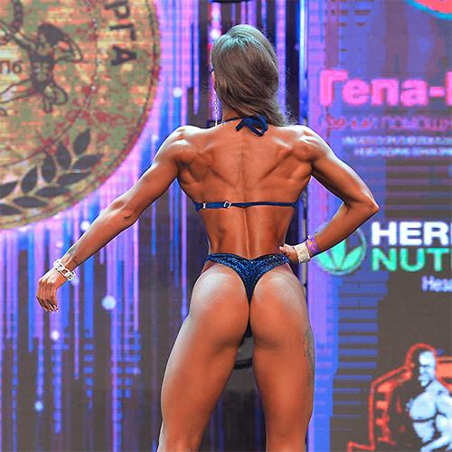 Фитнес-бикини дебют абсолютная категория - Кубок Санкт-Петербурга по бодибилдингу - 2021