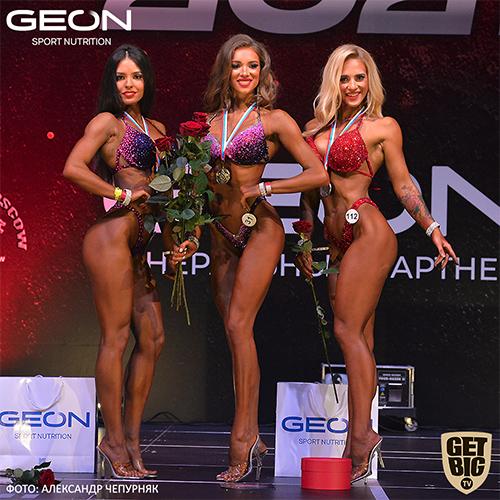 Фитнес-бикини 169 см - Grand-Prix Dudushkin Fitness Family - 2021