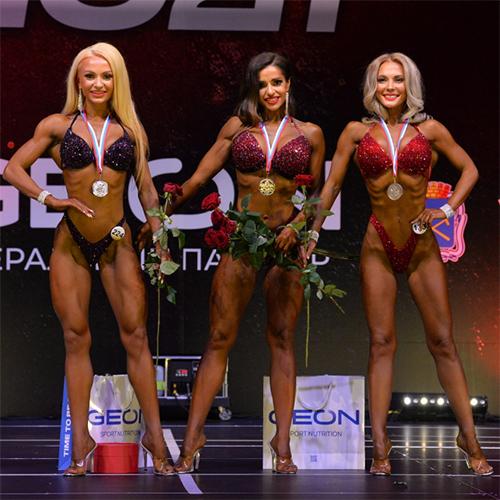 Фитнес-бикини 164 см - Grand-Prix Dudushkin Fitness Family - 2021
