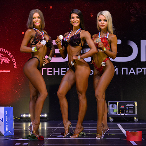 Фитнес-бикини 160 см - Grand-Prix Dudushkin Fitness Family - 2021