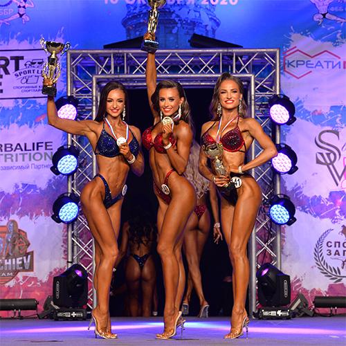 Фитнес-бикини 169 см - Чемпионат Санкт-Петербурга по бодибилдингу - 2020