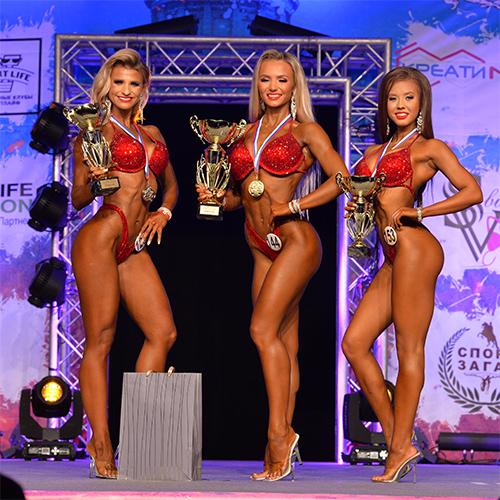 Фитнес-бикини 166 см - Чемпионат Санкт-Петербурга по бодибилдингу - 2020