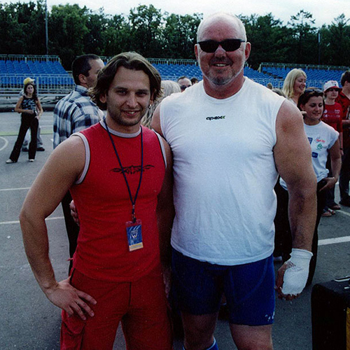Strongman Super Series Moscow - 2004
