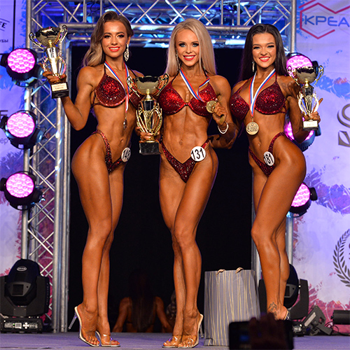Фитнес-бикини 163 см - Чемпионат Санкт-Петербурга по бодибилдингу - 2020