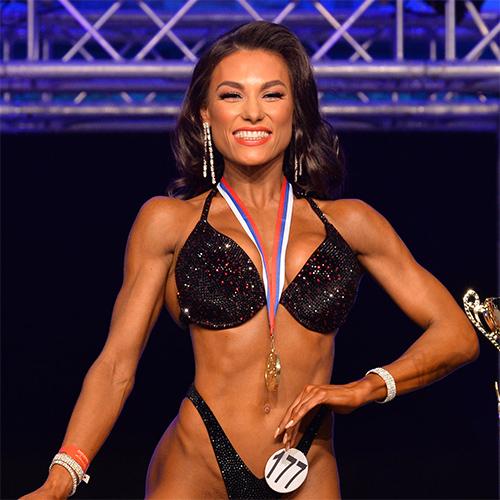 Фитнес-бикини 160 см - Чемпионат Санкт-Петербурга по бодибилдингу - 2020