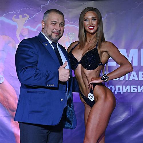 Фитнес-бикини абсолютная категория - Чемпионат Ярославской области по бодибилдингу - 2021