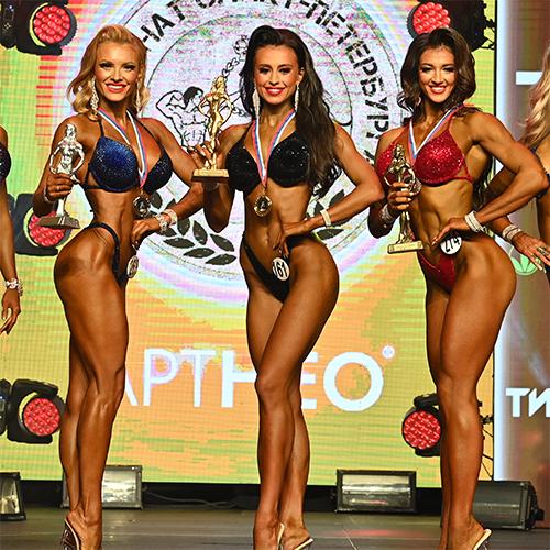 Фитнес-бикини 169 см - Чемпионат Санкт-Петербурга по бодибилдингу - 2021