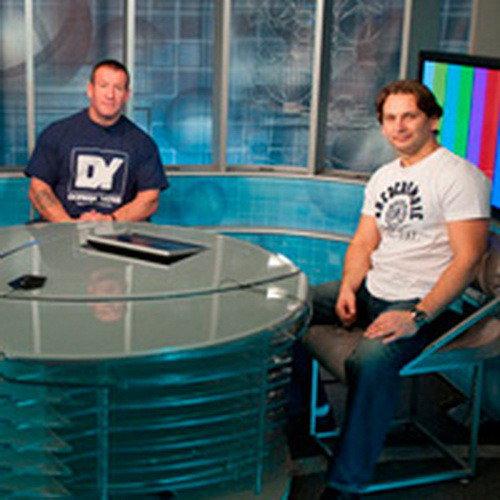 Дориан Ятс в гостях у российского телевидения