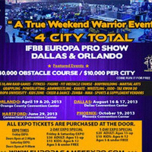 IFBB «Европа Даллас»-2013