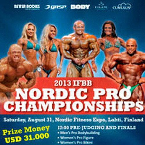 Итоги: IFBB «Нордик Про» - 2013