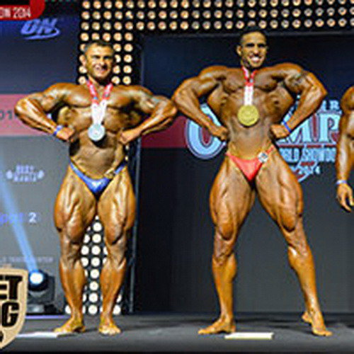 IFBB Amateur Olympia Moscow - 2014 (results)