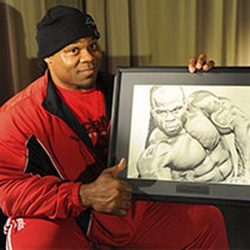 «Хищник» IFBB Кай Грин впервые посетил Россию