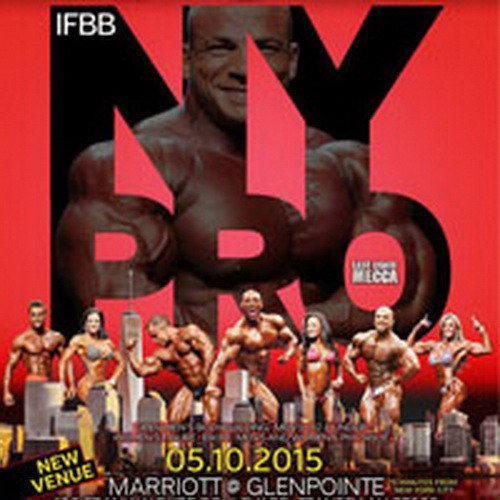 IFBB New York Pro - 2015 (список участников)