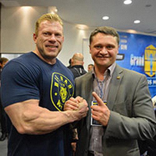 Денис Логинов представляет «IFBB Neva Pro Show»-2015